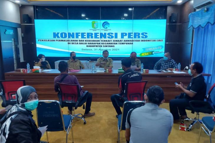 300 anggota TNI-Polri jaga TKP perusakan peribadatan Ahmadiyah di Kabupatn Sintang
