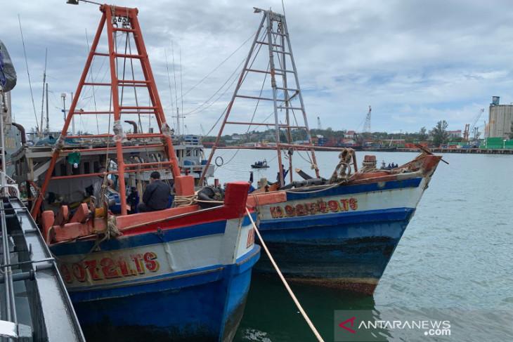 Baharkam Polri tangkap empat kapal ikan dari Vietnam