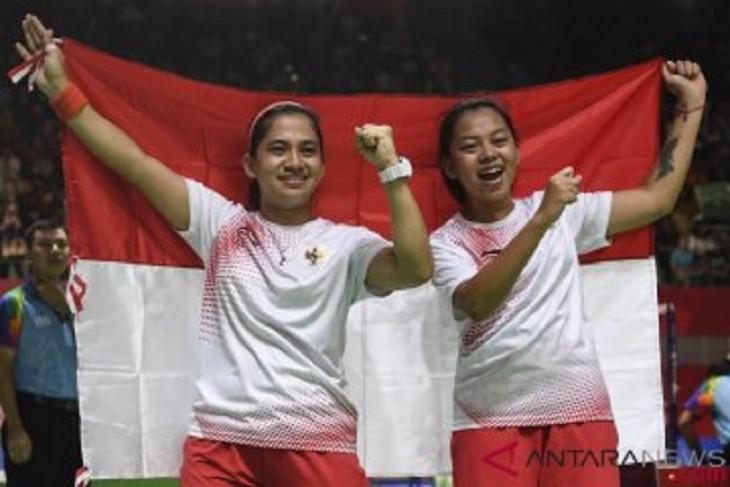 Pasangan Indonesia ke final ganda putri badminton Paralimpiade Tokyo