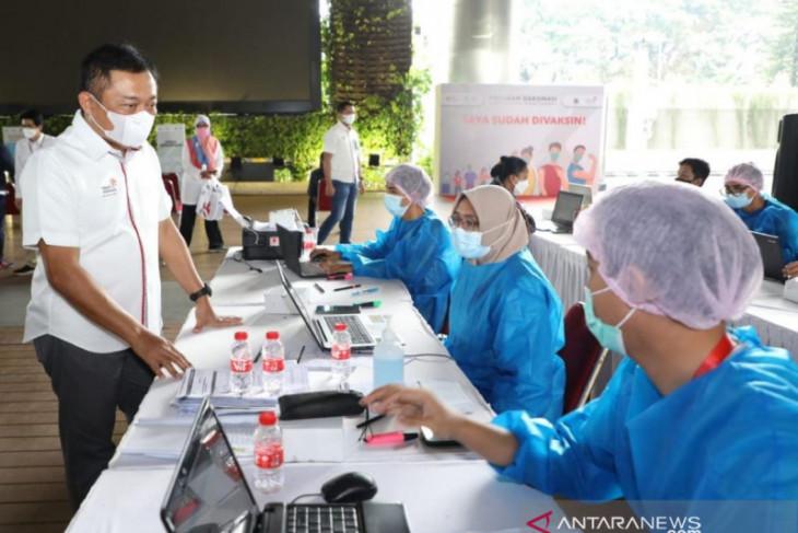 Vaksinasi TelkomGroup telah jangkau 86,87 persen karyawan