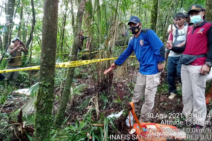 Polres Bengkulu Utara identifikasi temuan tulang kerangka manusia