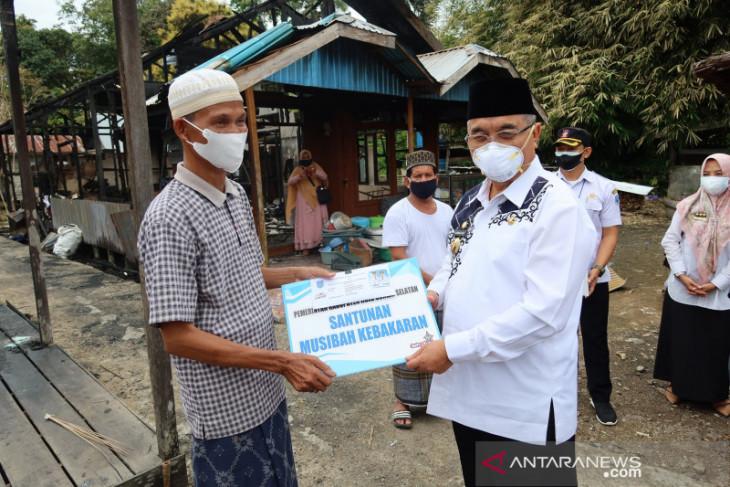 Korban kebakaran di Bamban Utara terima bantuan renovasi rumah