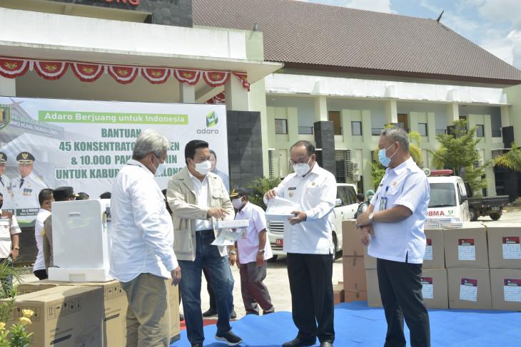 Adaro serahkan 65 konsentrator oksigen untuk Kabupaten Tabalong dan Balangan