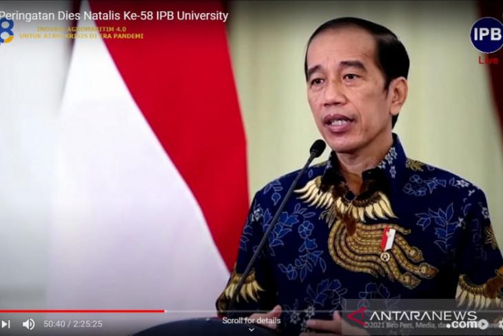 Presiden Jokowi ingin IPB jadi kampus pelopor inovasi