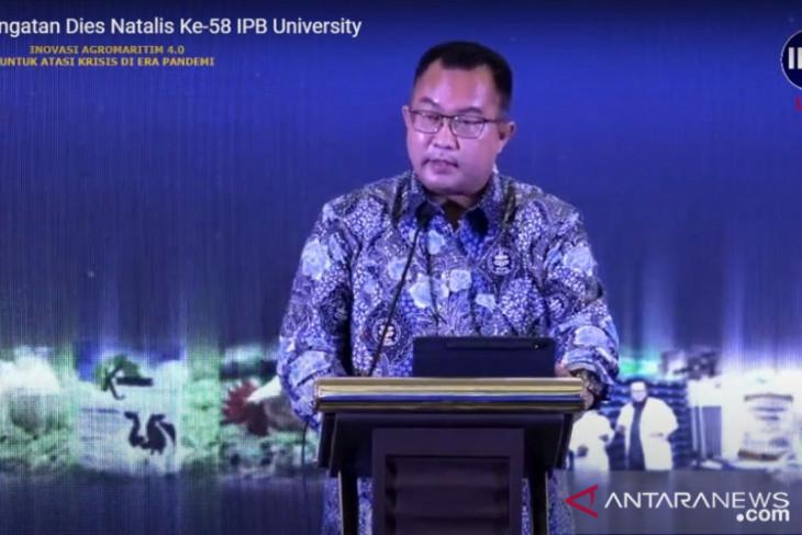 Rektor IPB bilang ini tiga disrupsi lahirkan model ekonomi baru
