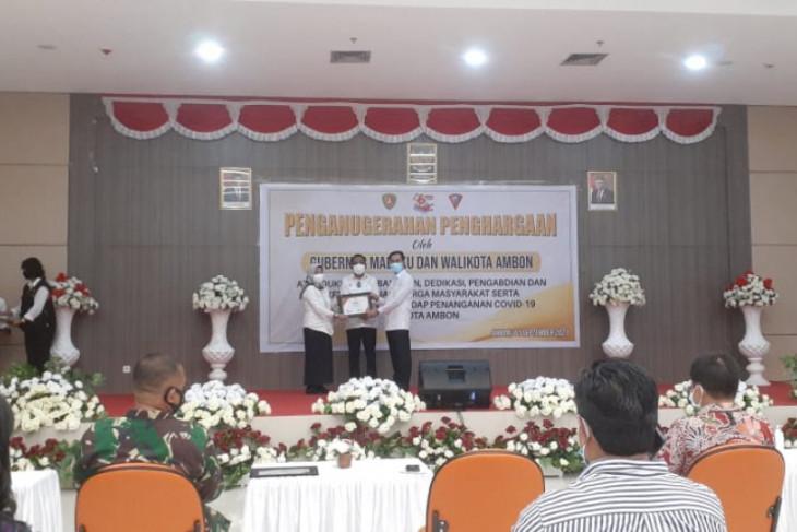 Pemkot Ambon beri penghargaan pejuang penanganan COVID-19 perlu diapresiasi