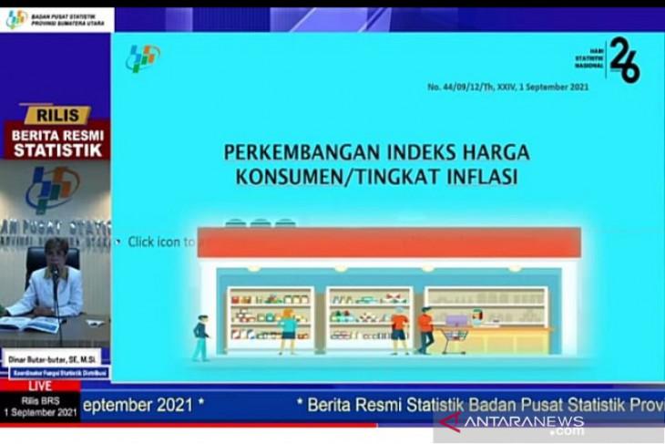 Sumatera Utara deflasi 0,08 persen pada Agustus