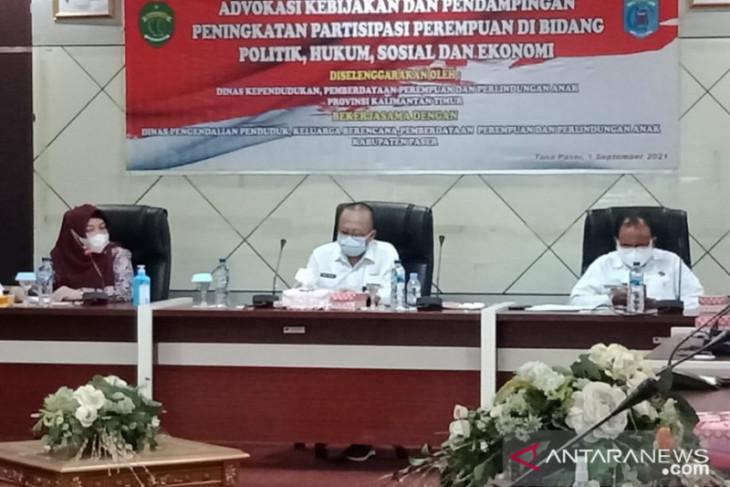 IPM laki-laki dan perempuan Kabupaten Paser jomplang