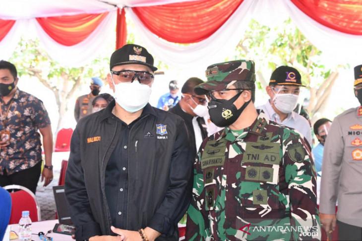 Pangdam V/Brawijaya terapkan penanggulangan pandemi berbasis pentaheliks
