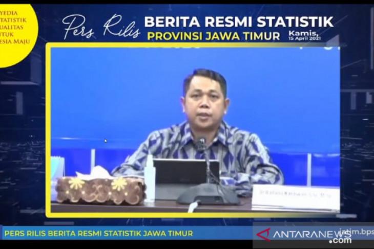 Jatim inflasi 0,26 persen pada Agustus 2021