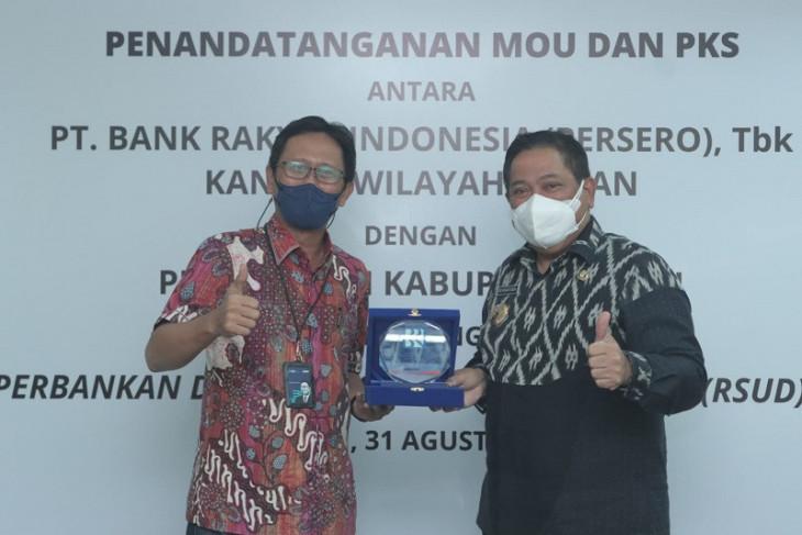 Tingkatkan layanan RSUD Sidikalang, Pemkab Dairi Gandeng Bank BRI