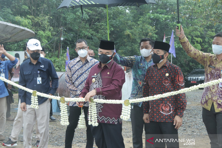 Bupati HSS resmikan Tugu Monumen Munggu Raya selesai direnovasi