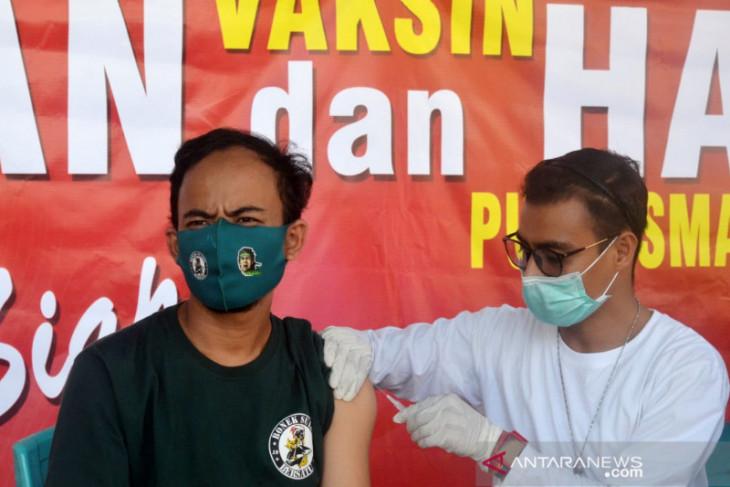 Kominda Gorontalo gelar pelayanan vaksinasi di desa wisata