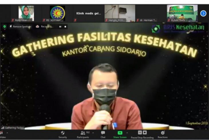 Tingkatkan sinergitas pelaksanaan program JKN-KIS, BPJS Kesehatan Sidoarjo gelar gathering faskes