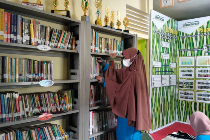 Perpustakaan Bahagia Mendawai Pontianak masuk lomba tingkat nasional 2021