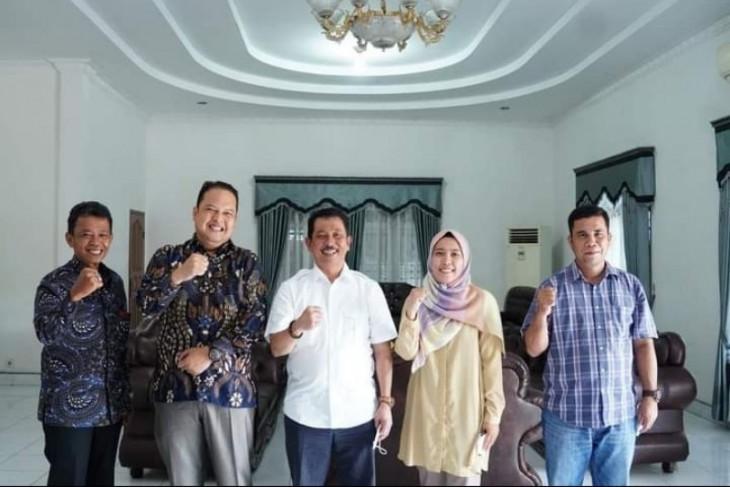 Wakil Wali Kota Tebing Tinggi terima audiensi Wakil Rektor Universitas Dharmawangsa Medan
