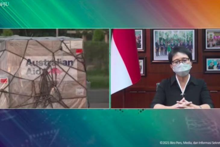 Indonesia receives 500,000 AstraZeneca doses from Australia