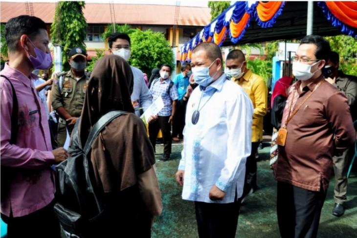Wagub Gorontalo pantau vaksinasi di Bone Bolango