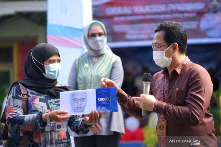 Bank Indonesia Gorontalo dukung akselerasi vaksinasi COVID-19