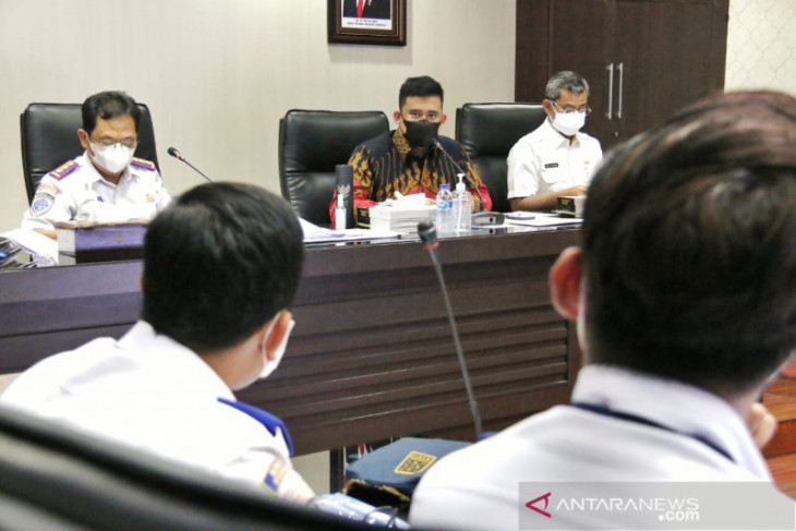 Pemkot Medan minta KAI sosialisasi jalur layang Medan-Binjai