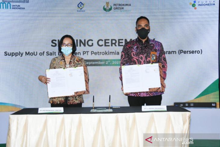 Petrokimia Gresik  inks MoU for soda ash factory establishment