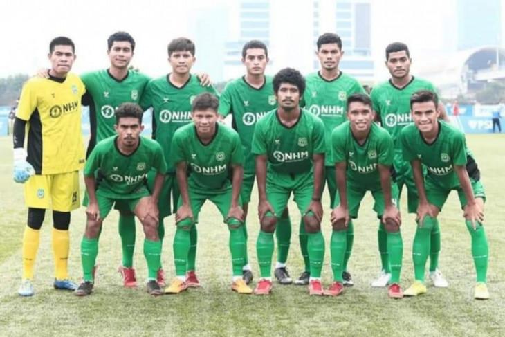 PON Papua- Tim sepakbola Malut optimistis raih prestasi tekun berlatih
