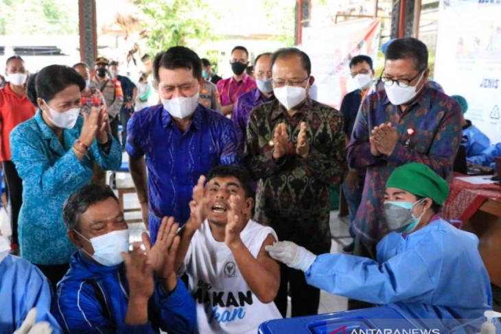 Gubernur Bali harap vaksinasi disabilitas bisa rampung akhir September