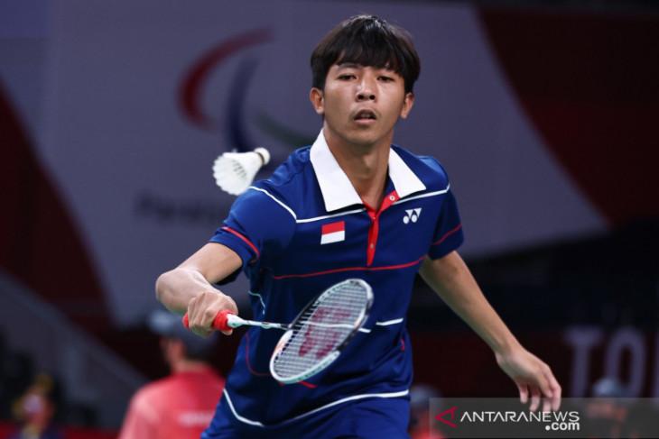 Indonesia berpeluang raih dua medali parabadminton tunggal putra SU5 Paralimpiade Tokyo