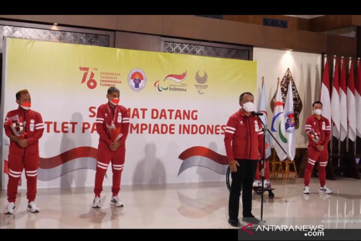 Menpora yakin Indonesia  bisa tambah emas Paralimpiade Minggu