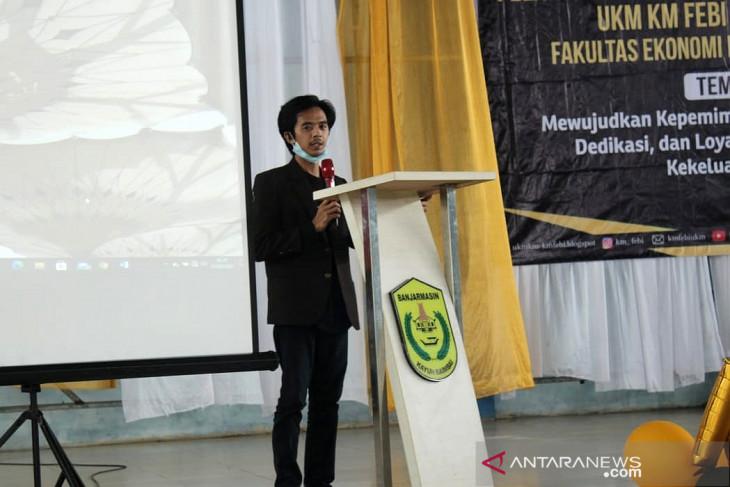 M Rizkan Fadhiil pemuda Tapin banyak pengalaman organisasi dan prestasi