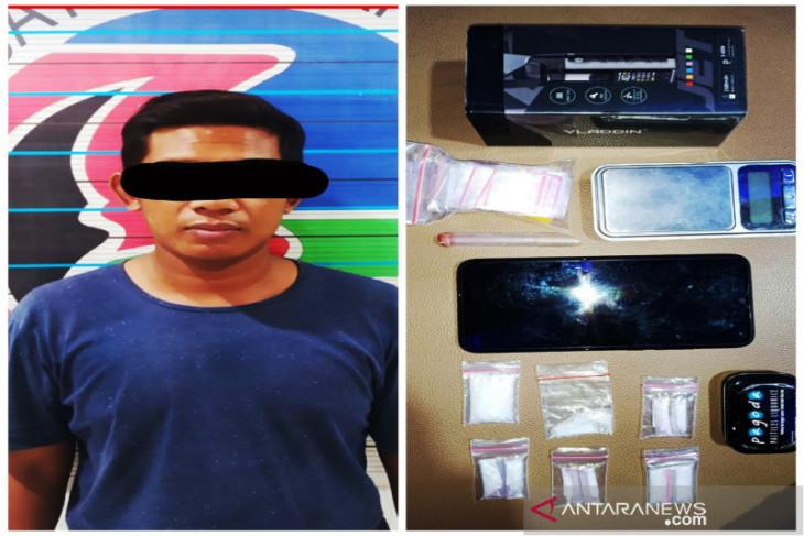 Satresnarkoba Banjarmasin tangkap pengedar narkoba berserta barang bukti