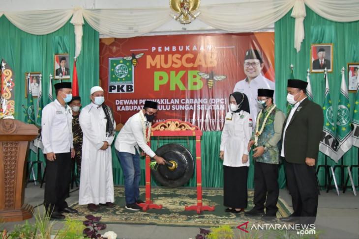 Wabup HSS : Terima kasih kerjasama dan peran PKB dalam pembangunan