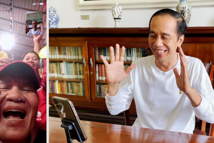 Presiden Jokowi buat panggilan video dengan atlet Paralimpiade Tokyo 2020