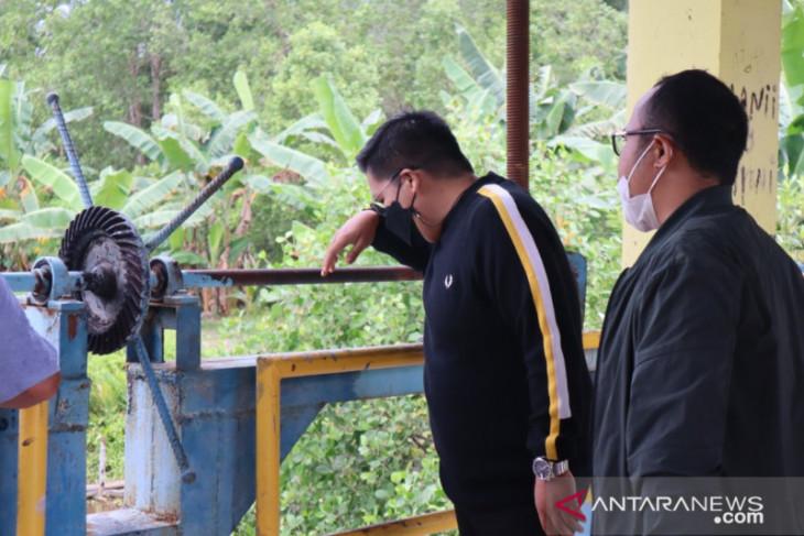 Wabup Kukar Rendi Solihin tinjau penyebab banjir di Samboja