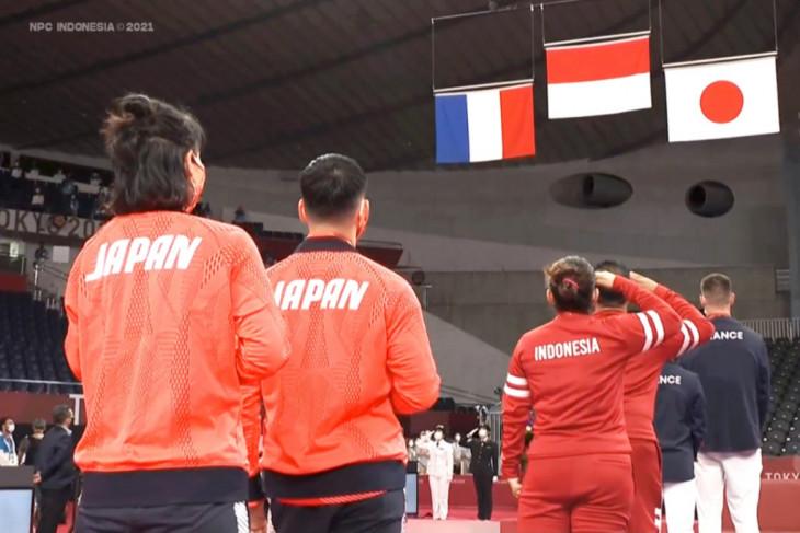 Raihan dua emas Leani Ratri memiliki makna luar biasa bagi Indonesia di Paralimpade Tokyo