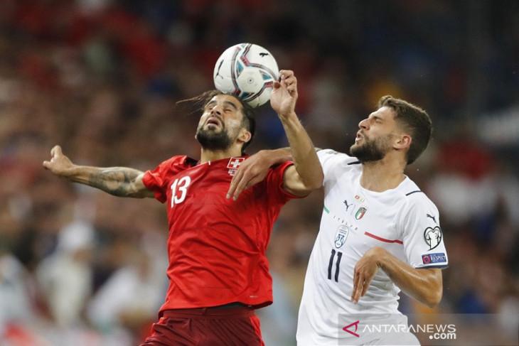 Bermain imbang melawan Swiss, Italia mencetak rekor nirkalah internasional j