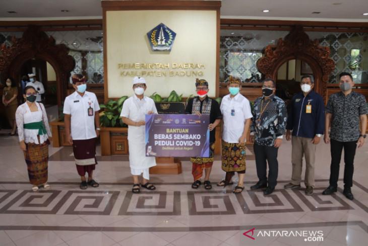 Pemkab Badung terima bantuan beras dari BI Bali