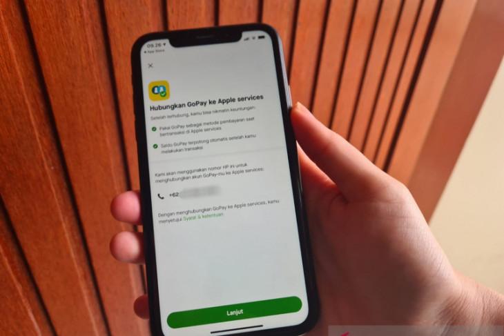 GoPay kini sudah bisa  bayar di layanan Apple