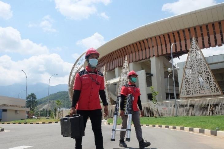 PON Papua - PT Telkom siapkan 891 titik WiFi gratis di arena PON Papua