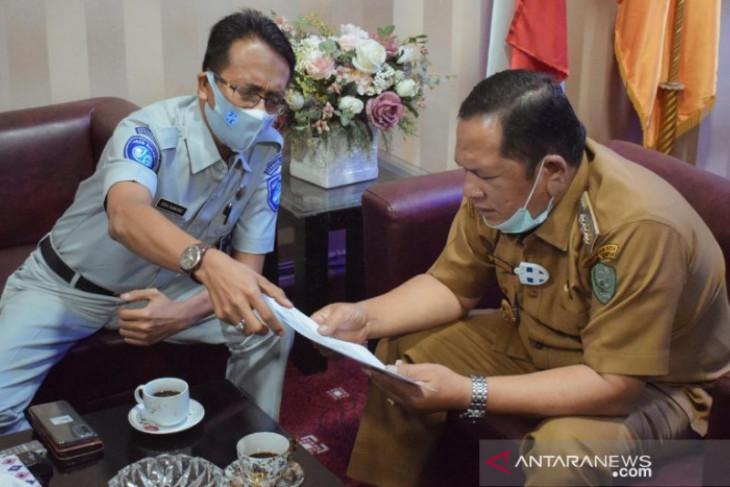 Jasa Raharja ajak Wali Kota Padangsidimpuan sosialisasi asuransi Jasa Raharja