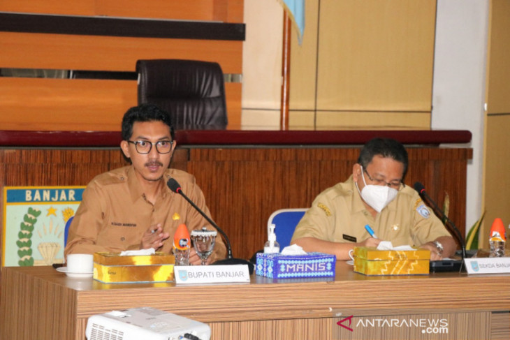 PPKM Kabupaten Banjar turun ke level II