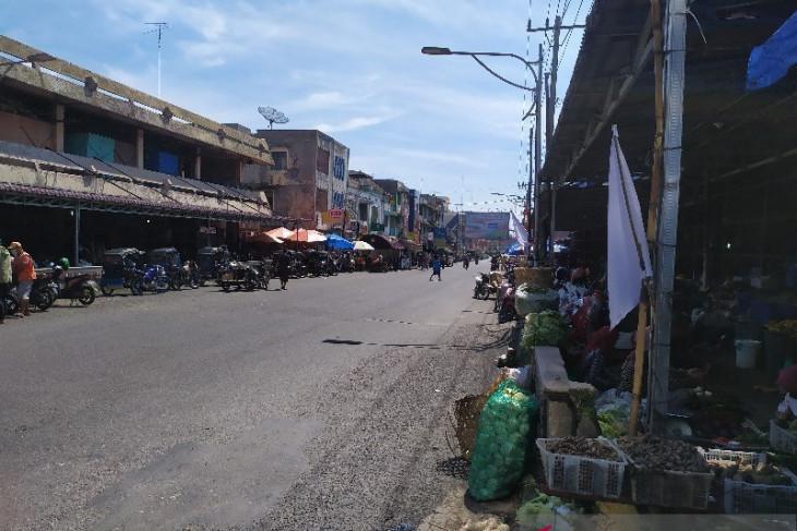 Pedagang minta akses ke inti Kota Pematangsiantar  diberi kelonggaran