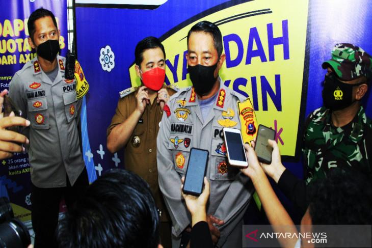 Kapolresta targetkan 1.000 peserta vaksinasi merdeka di Banjarmasin