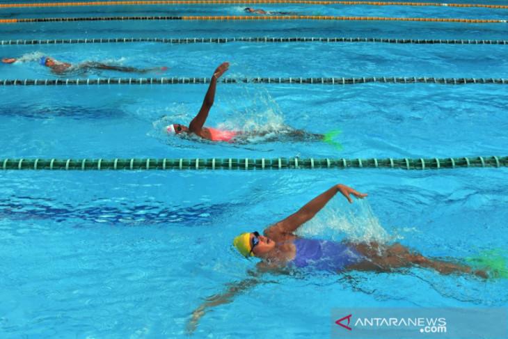 PON Papua - Atlet Renang Bali ikuti Latihan Persiapan PON Papua