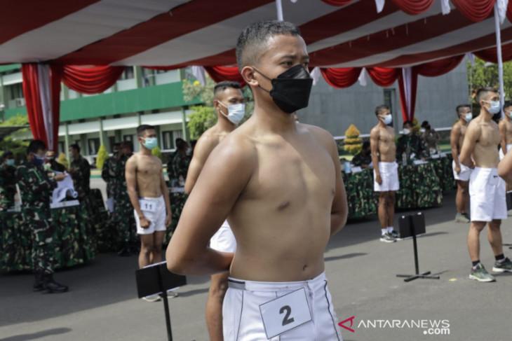 Kodam V gelar sidang parade caba TNI-AD dengan prokes ketat
