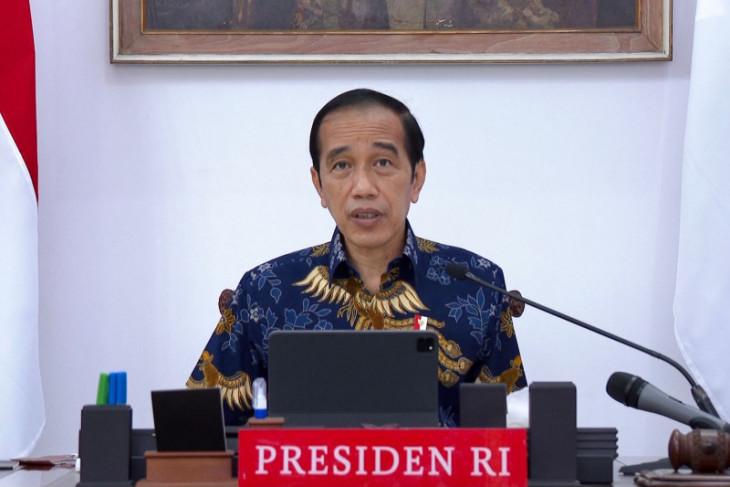 Presiden sampaikan sejumlah arahan terkait evaluasi penerapan PPKM