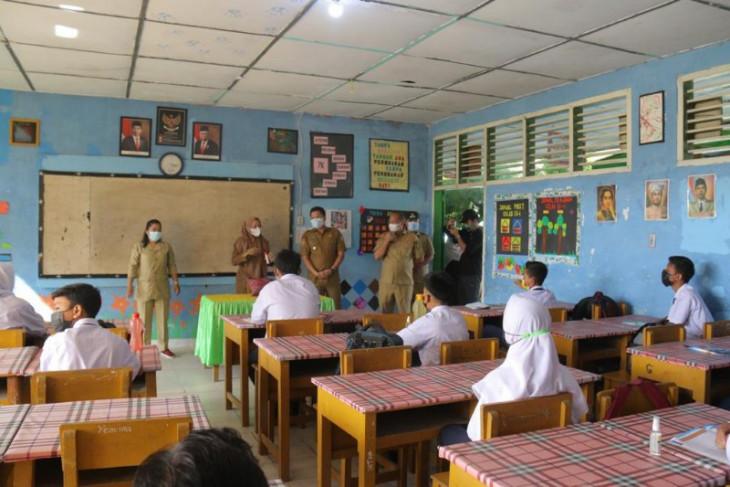Sejumlah sekolah di Serdang  Bedagai simulasi penerapan PTM