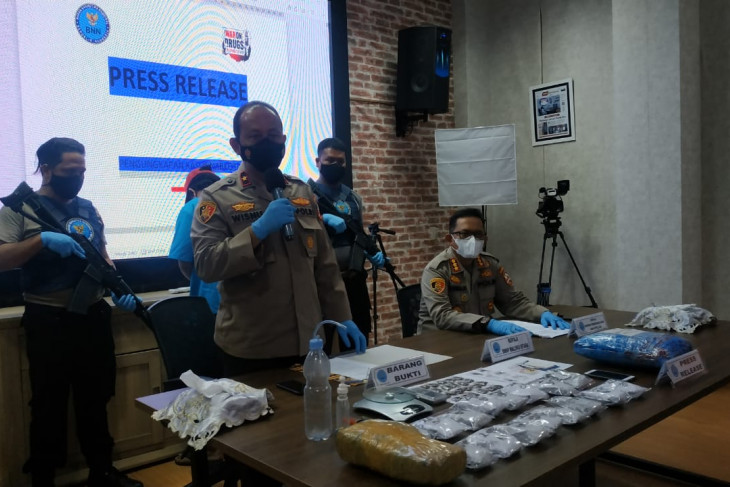 BNNP ungkap peredaran narkoba lewat jasa pengiriman