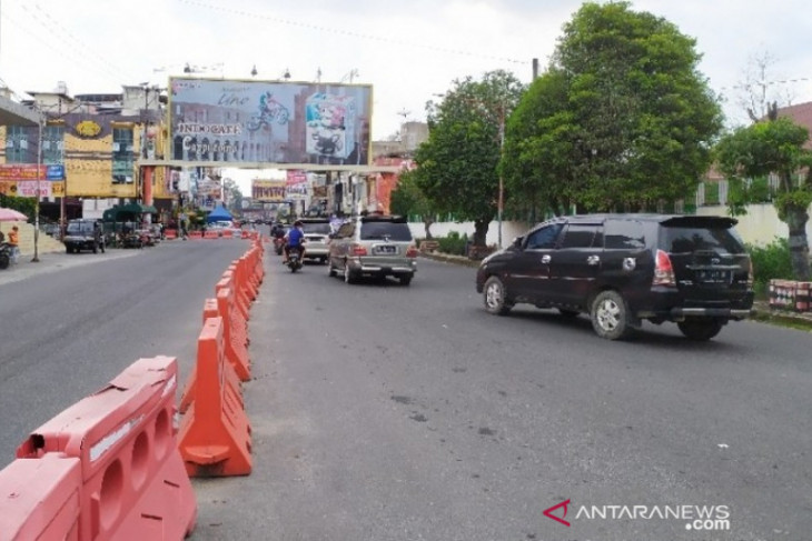 PPKM Level 3, akses ke pusat Kota Pematangsiantar dilonggarkan