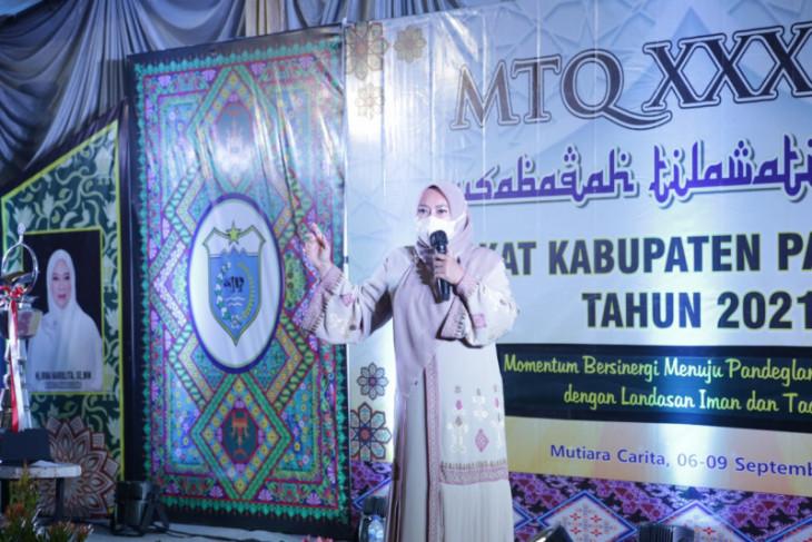 LPTQ Kabupaten Pandeglang luncurkan mushaf Al-qur'an khas Pandeglang